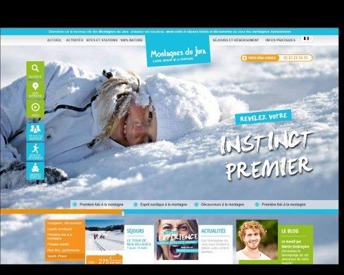 Werbung Montagne du Jura