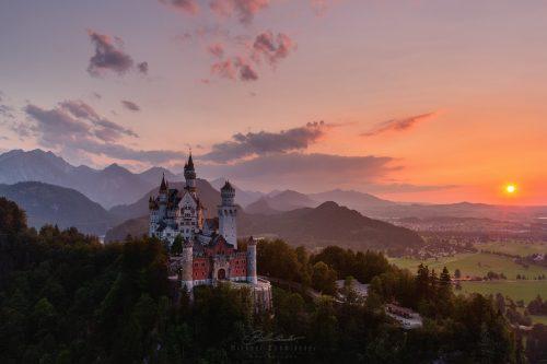 Landschaften Schloss Neuschwanstein